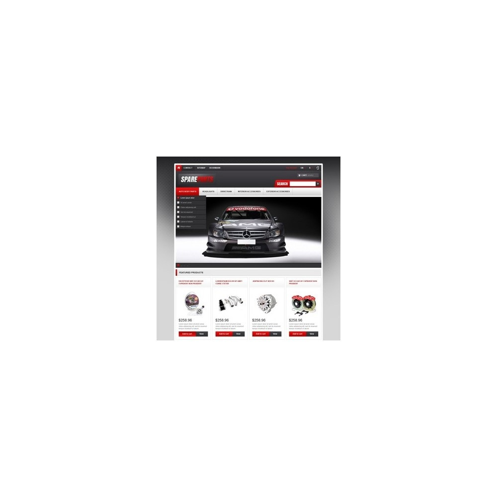 theme - Coches y Motos - Responsive Spare Parts Store - 2