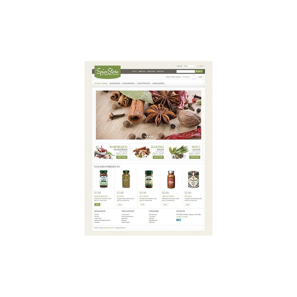 theme - Eten & Restaurant - Spice Store - 1