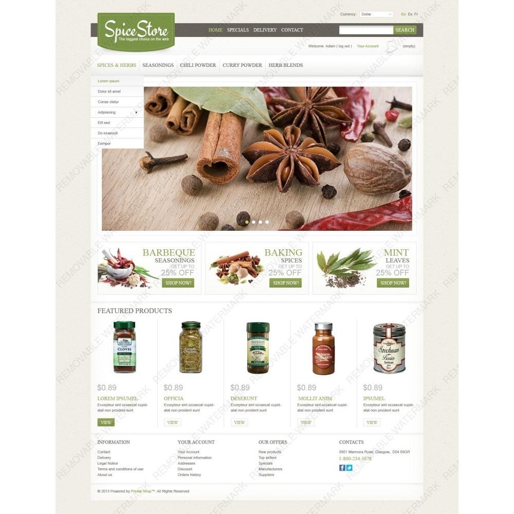 theme - Eten & Restaurant - Spice Store - 2