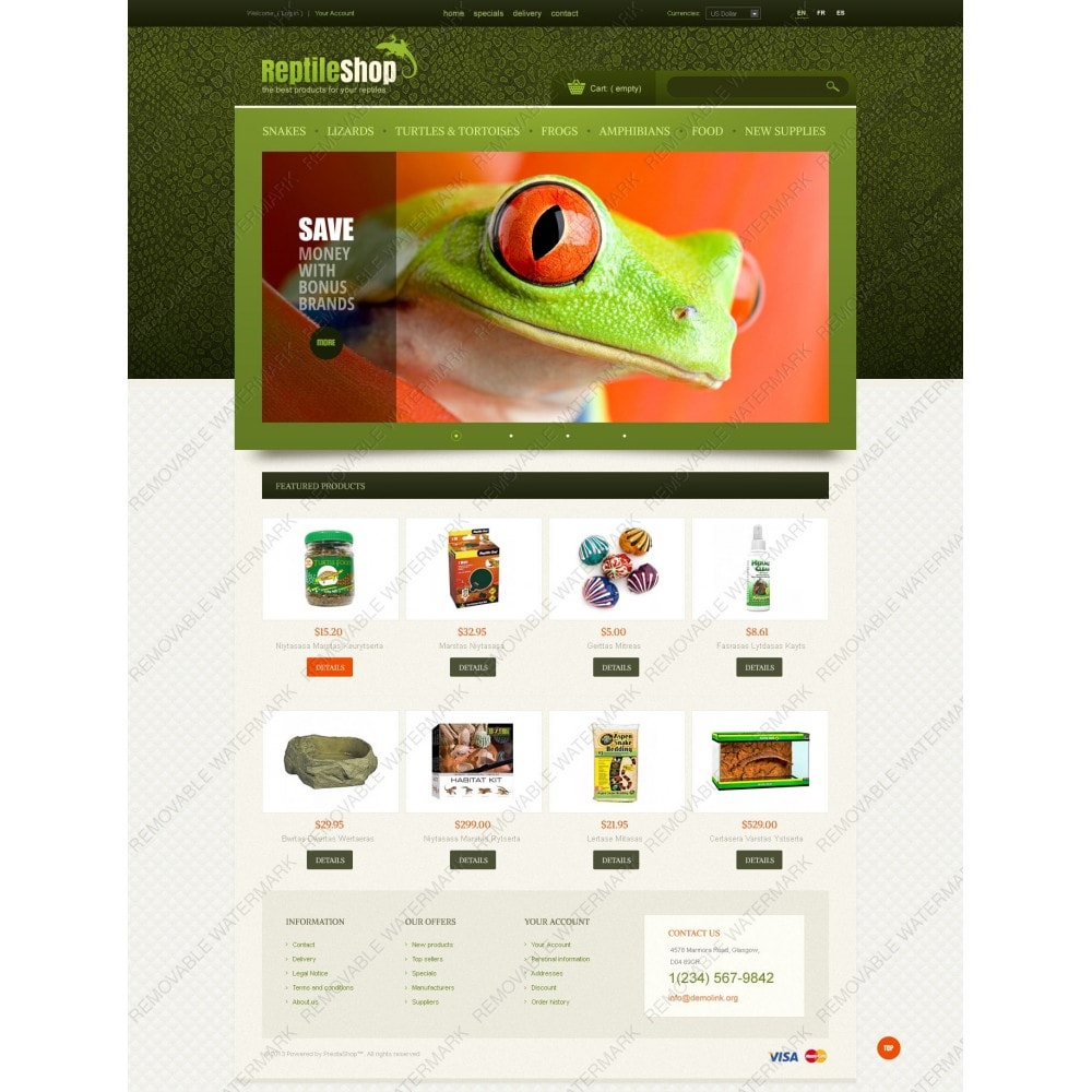 theme - Animaux - Reptile Shop - 4
