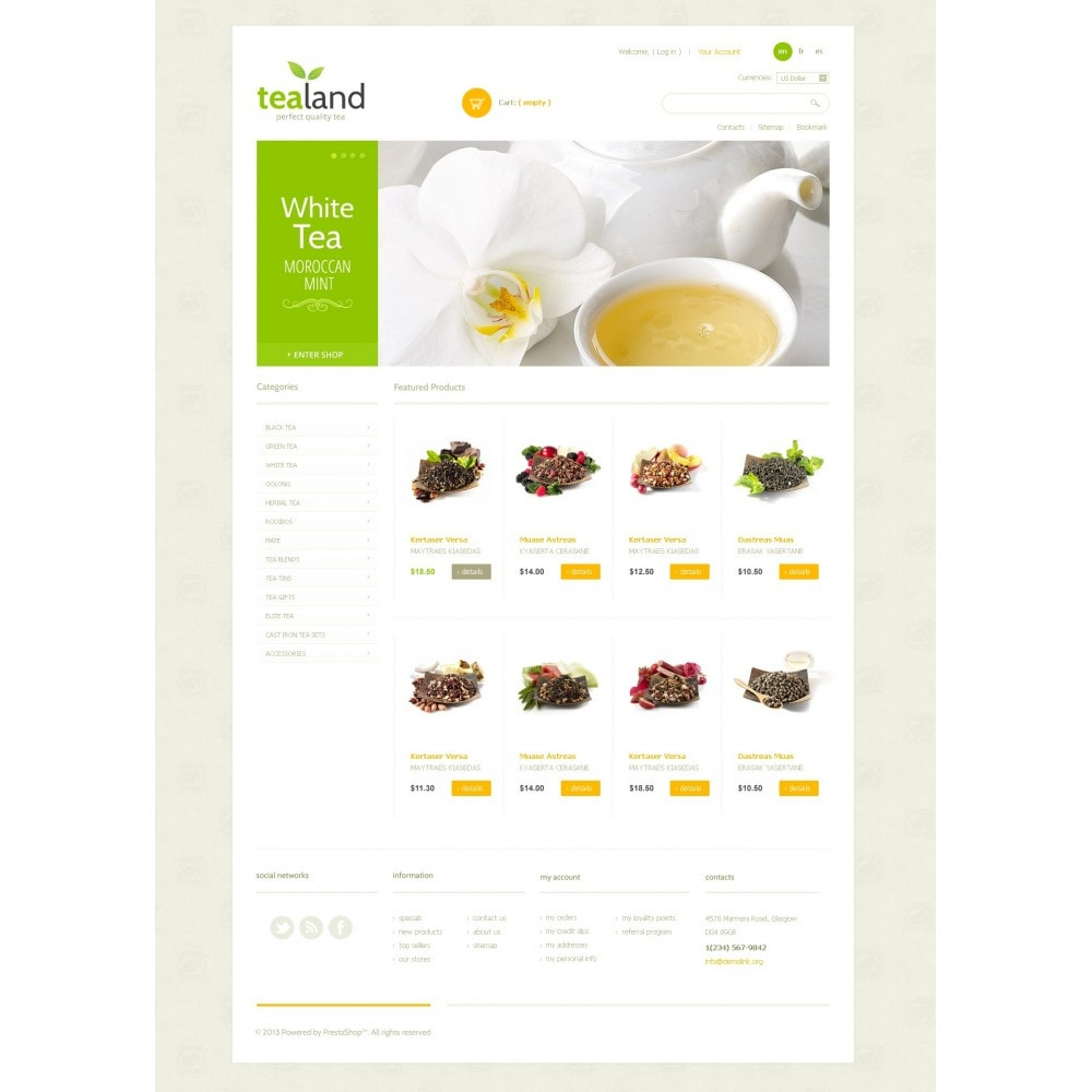 theme - Lebensmittel & Restaurants - Tea Land - 3