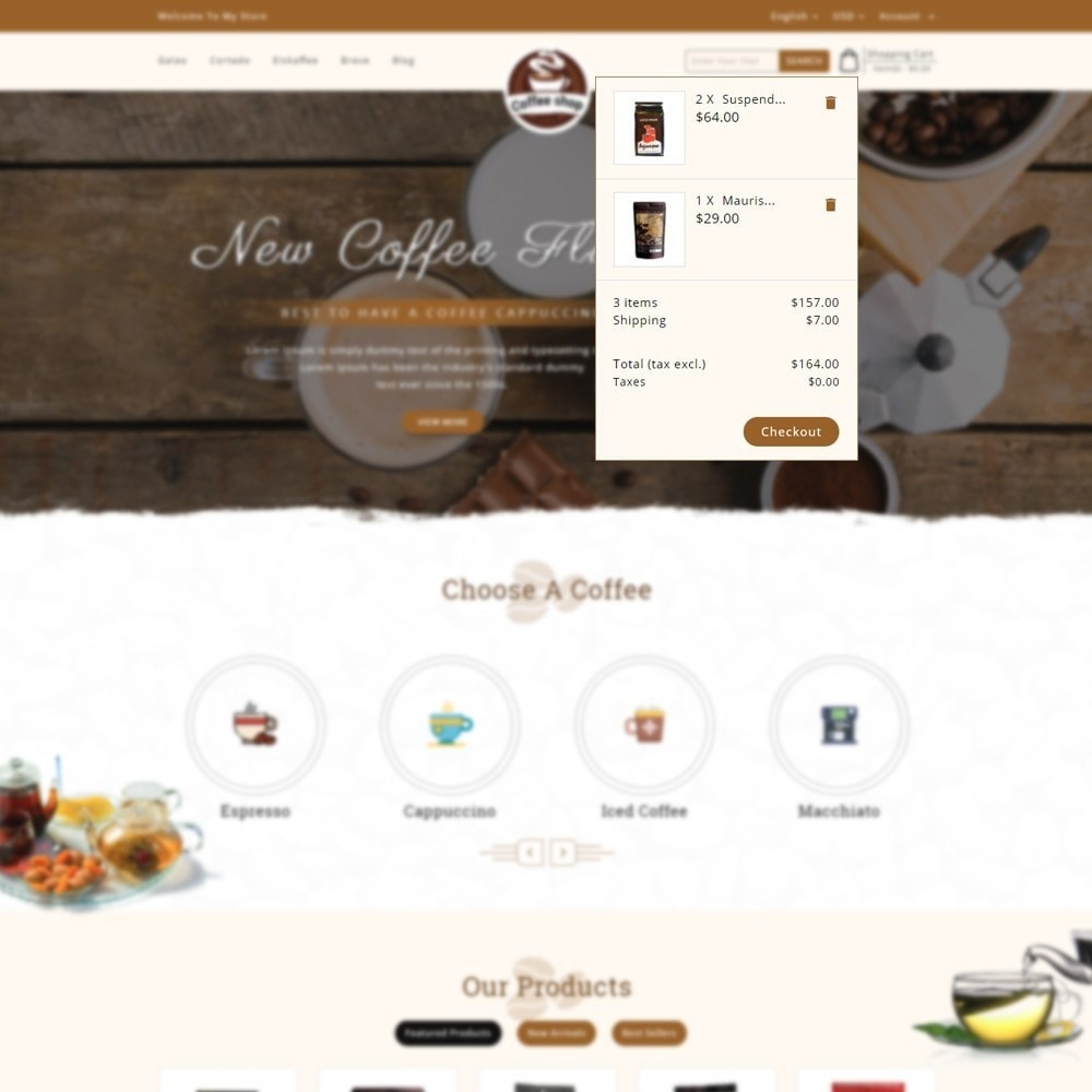 theme - Bebidas y Tabaco - Coffee Shop - 7