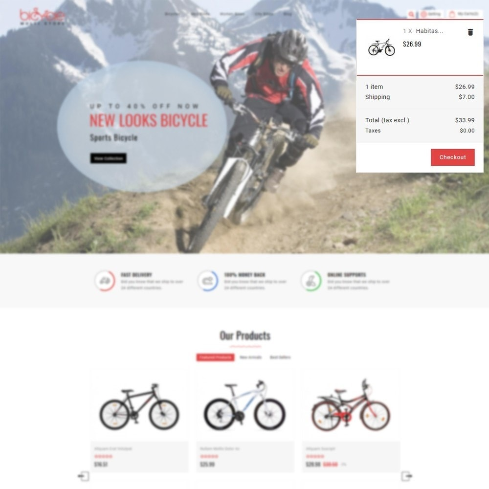 theme - Sports, Activities & Travel - Bicycle Multi Store - 7