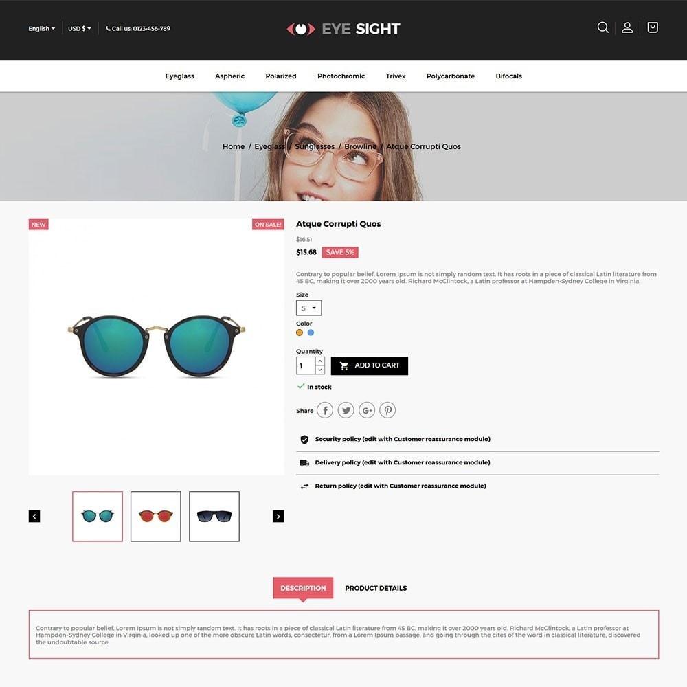 theme - Fashion & Shoes - Eyesight - Glasses Online Store - 5