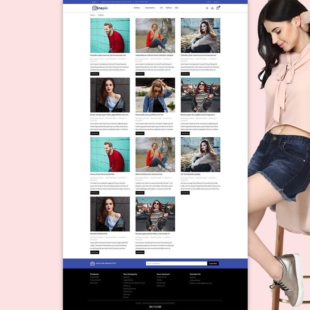 theme - Mode & Schuhe - Snepic - Fashion Store - 3