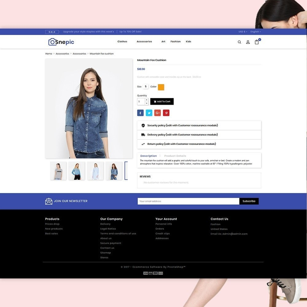 theme - Moda y Calzado - Snepic - Fashion Store - 4