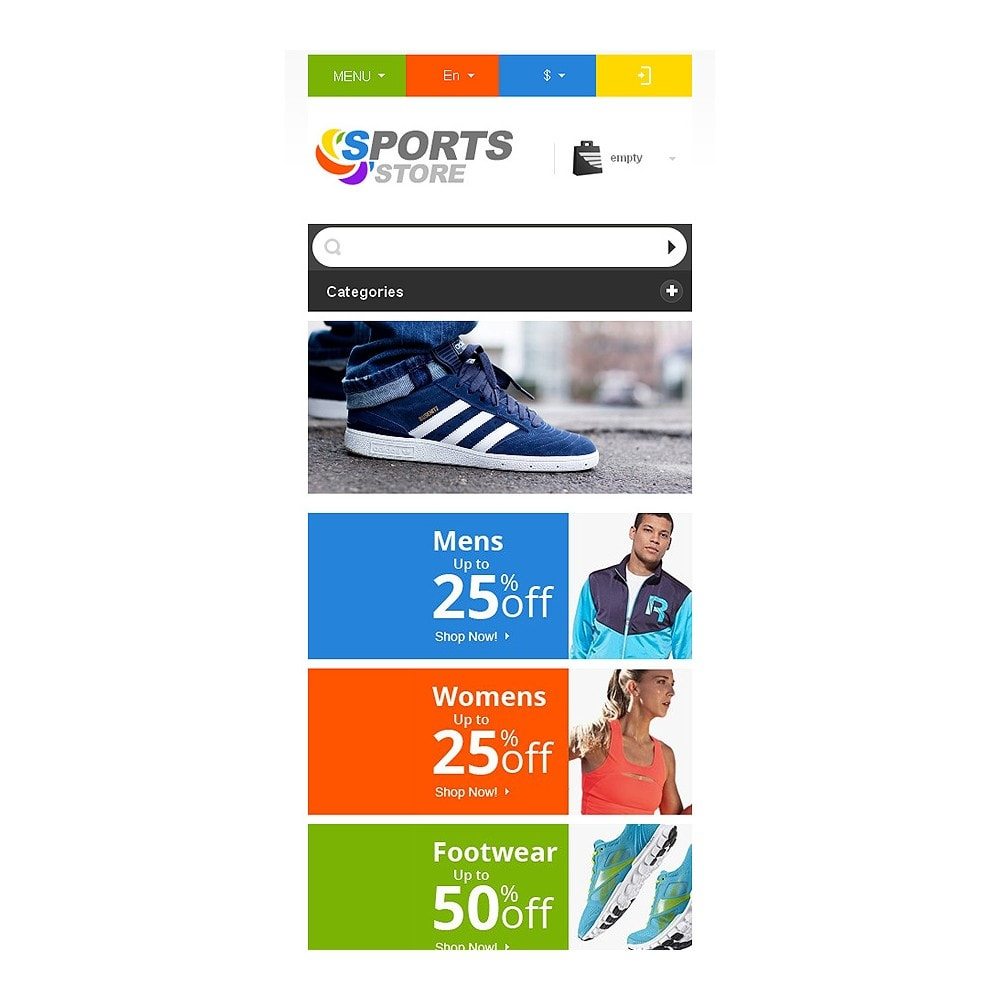 theme - Sports, Activities & Travel - Responsive Sports Store - 9
