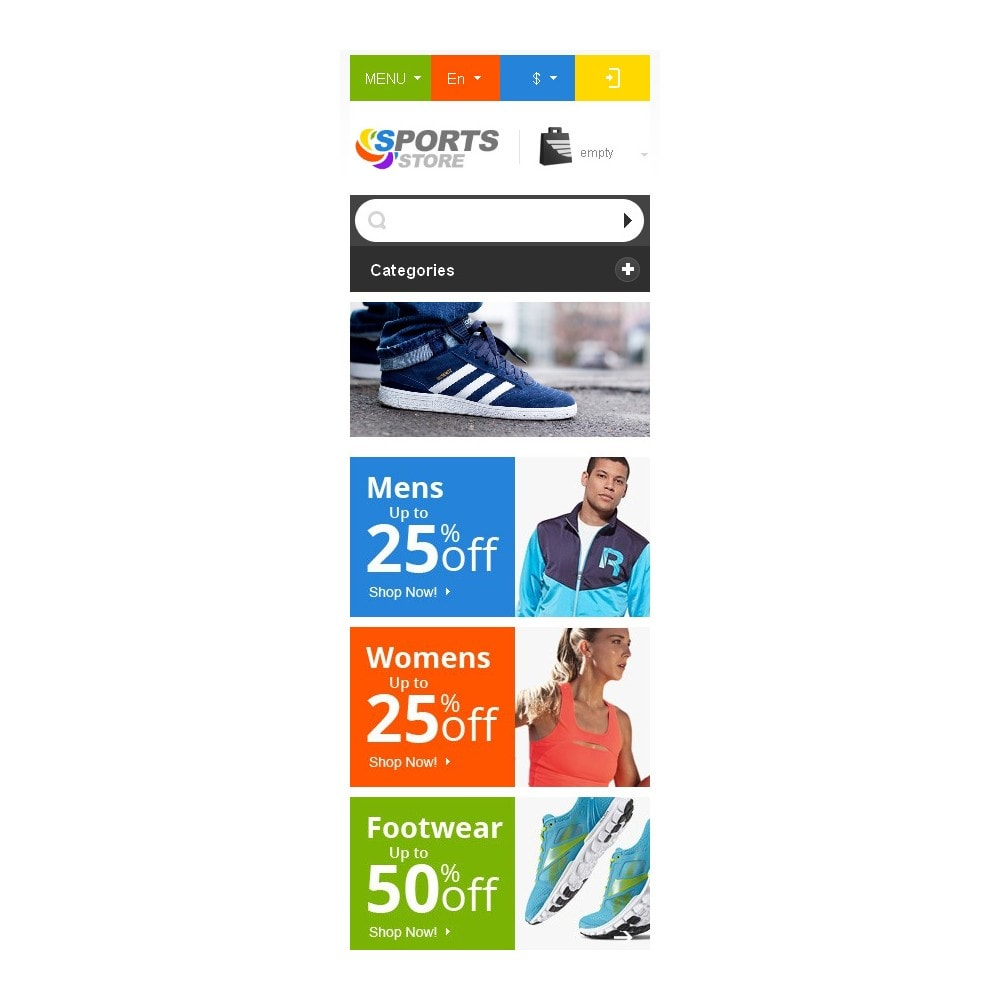 theme - Sport, Attività & Viaggi - Responsive Sports Store - 10