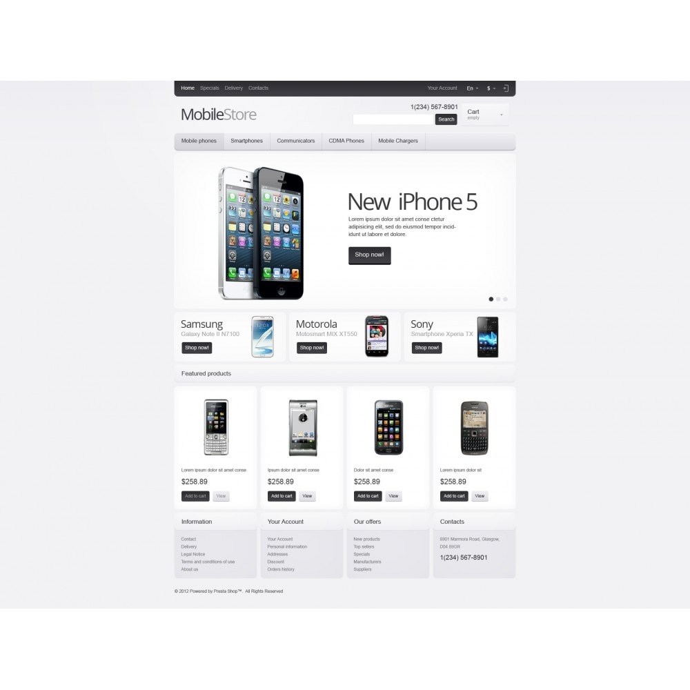 theme - Elektronika & High Tech - Responsive Mobile Store - 4