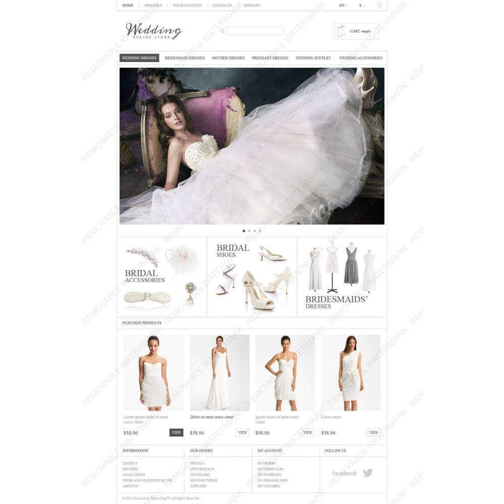 theme - Mode & Schuhe - Responsive Wedding Store - 3