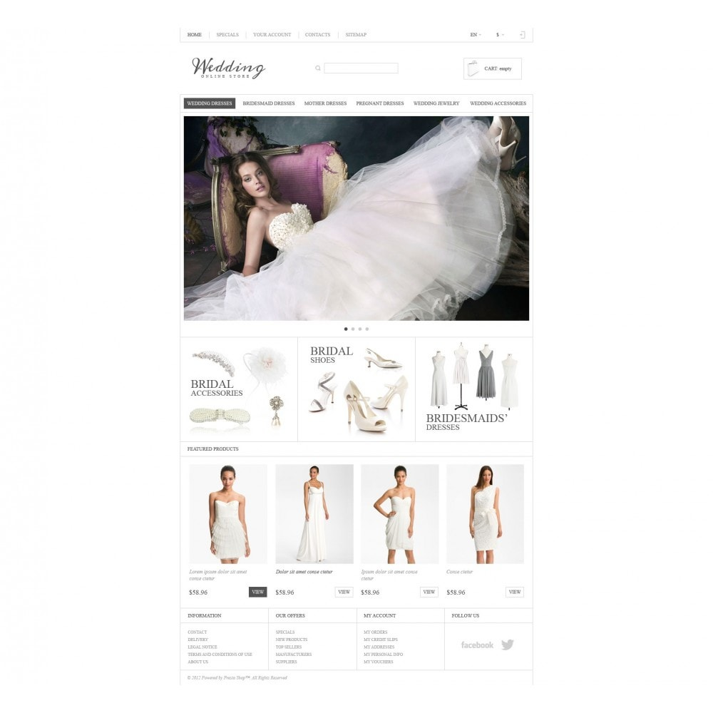 theme - Mode & Schuhe - Responsive Wedding Store - 4