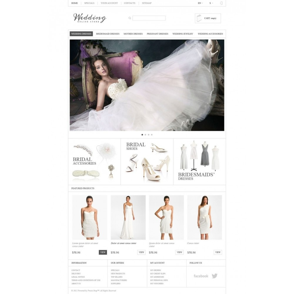 theme - Mode & Schuhe - Responsive Wedding Store - 5