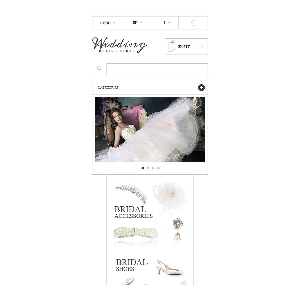 theme - Mode & Schuhe - Responsive Wedding Store - 9
