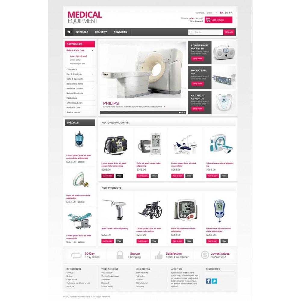theme - Saúde & Beleza - Medical Equipment - 5