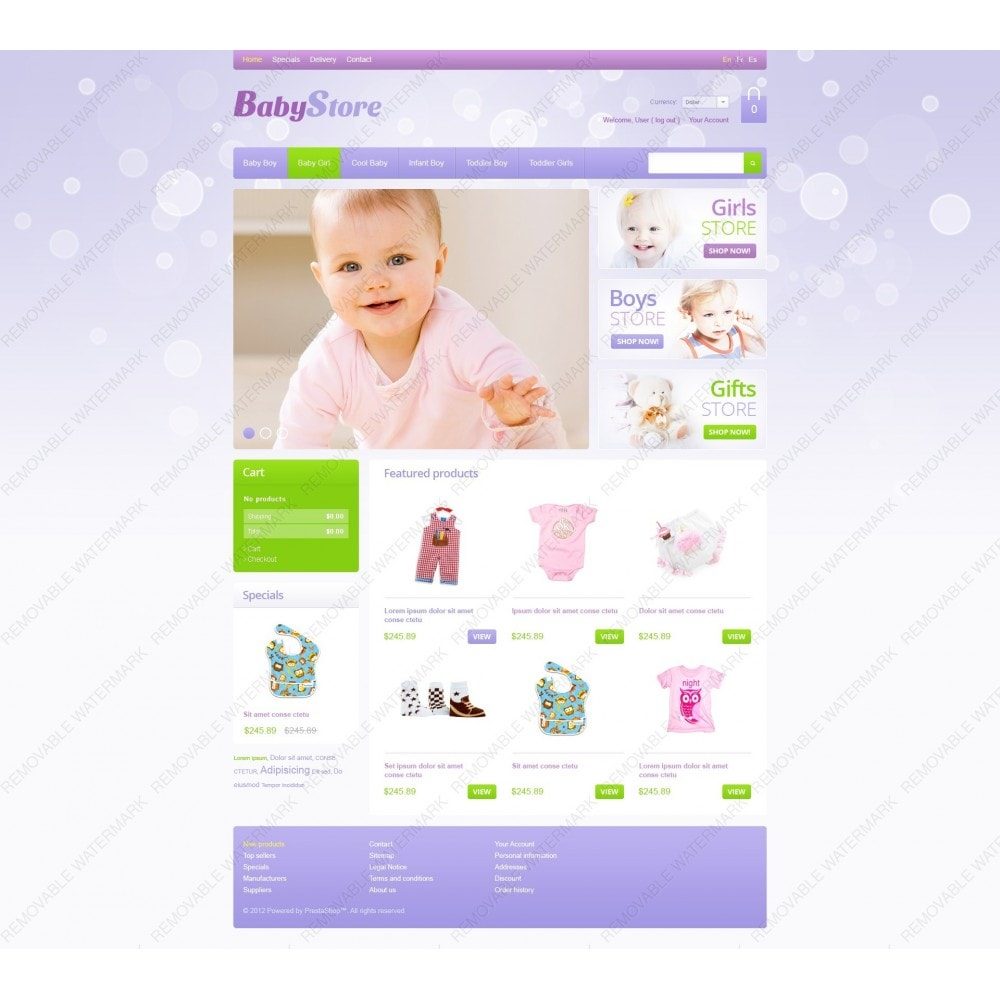 theme - Dom & Ogród - Baby Store - 7