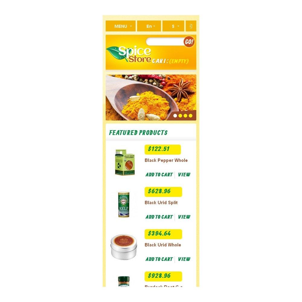 theme - Food & Restaurant - Responsive Spice Store - 10