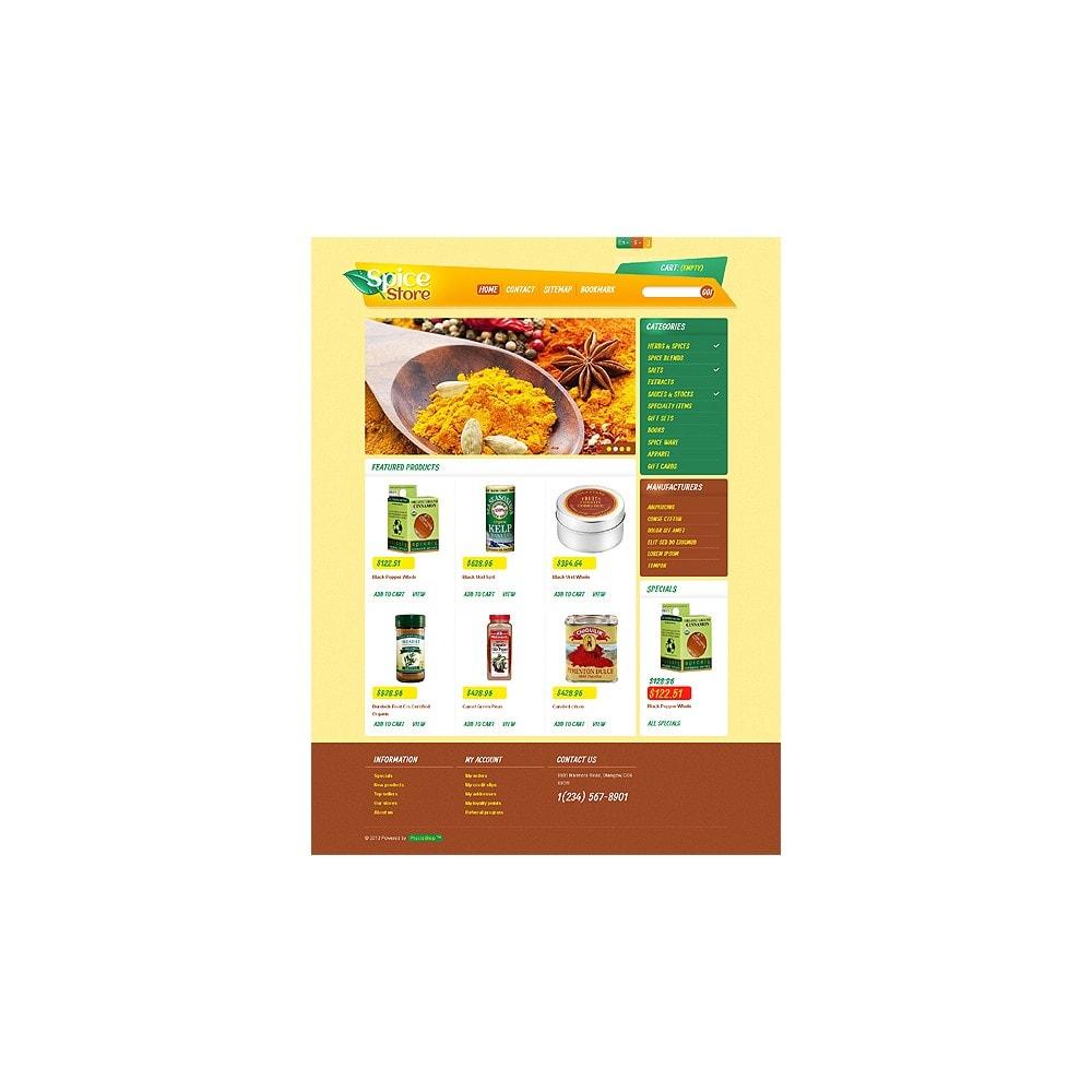 theme - Food & Restaurant - Responsive Spice Store - 11