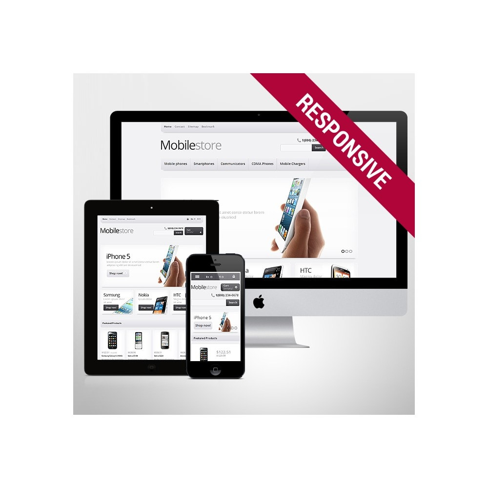 theme - Elektronika & High Tech - Responsive Mobile Store - 1
