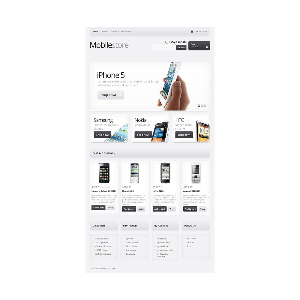theme - Elektronika & High Tech - Responsive Mobile Store - 8