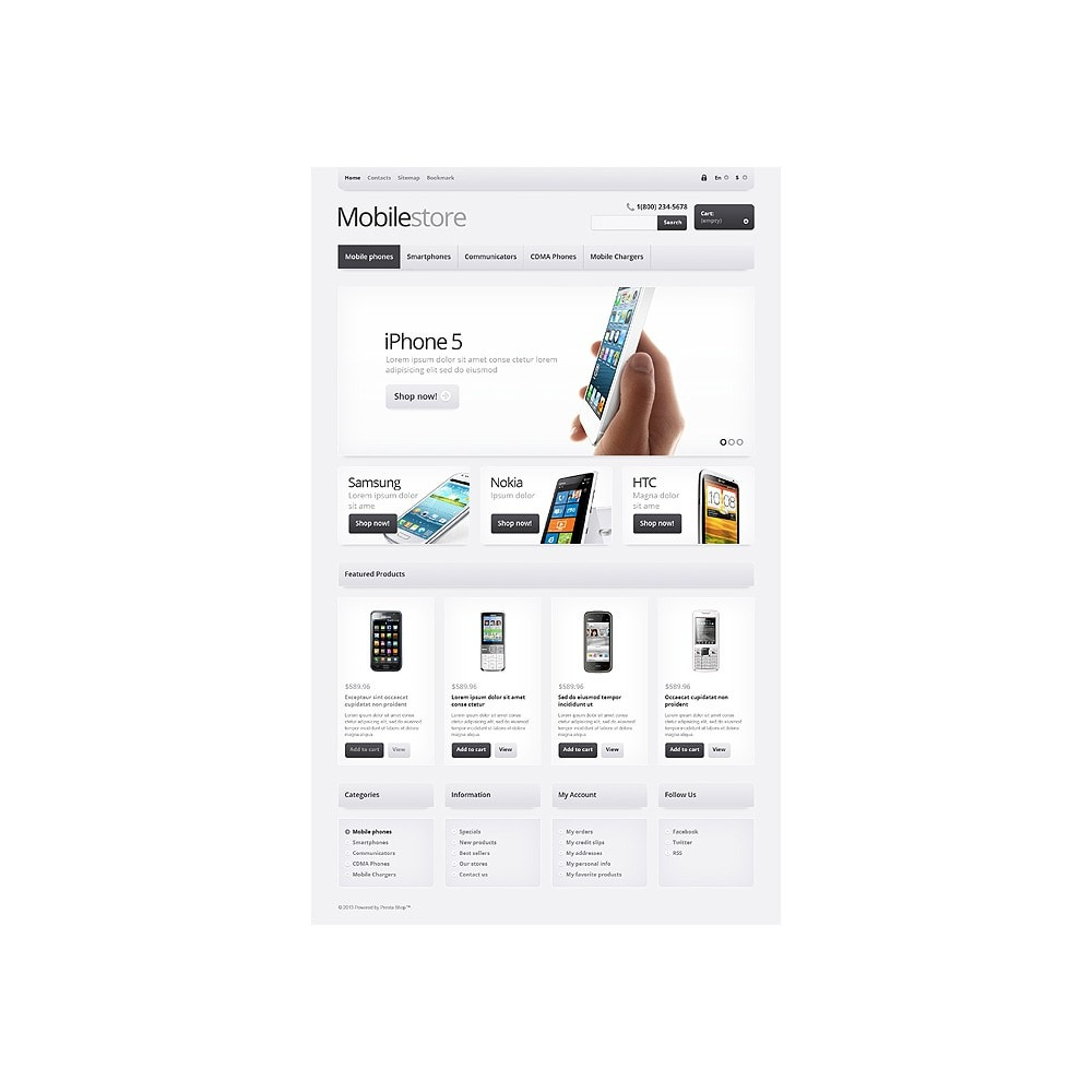 theme - Electrónica e High Tech - Responsive Mobile Store - 11