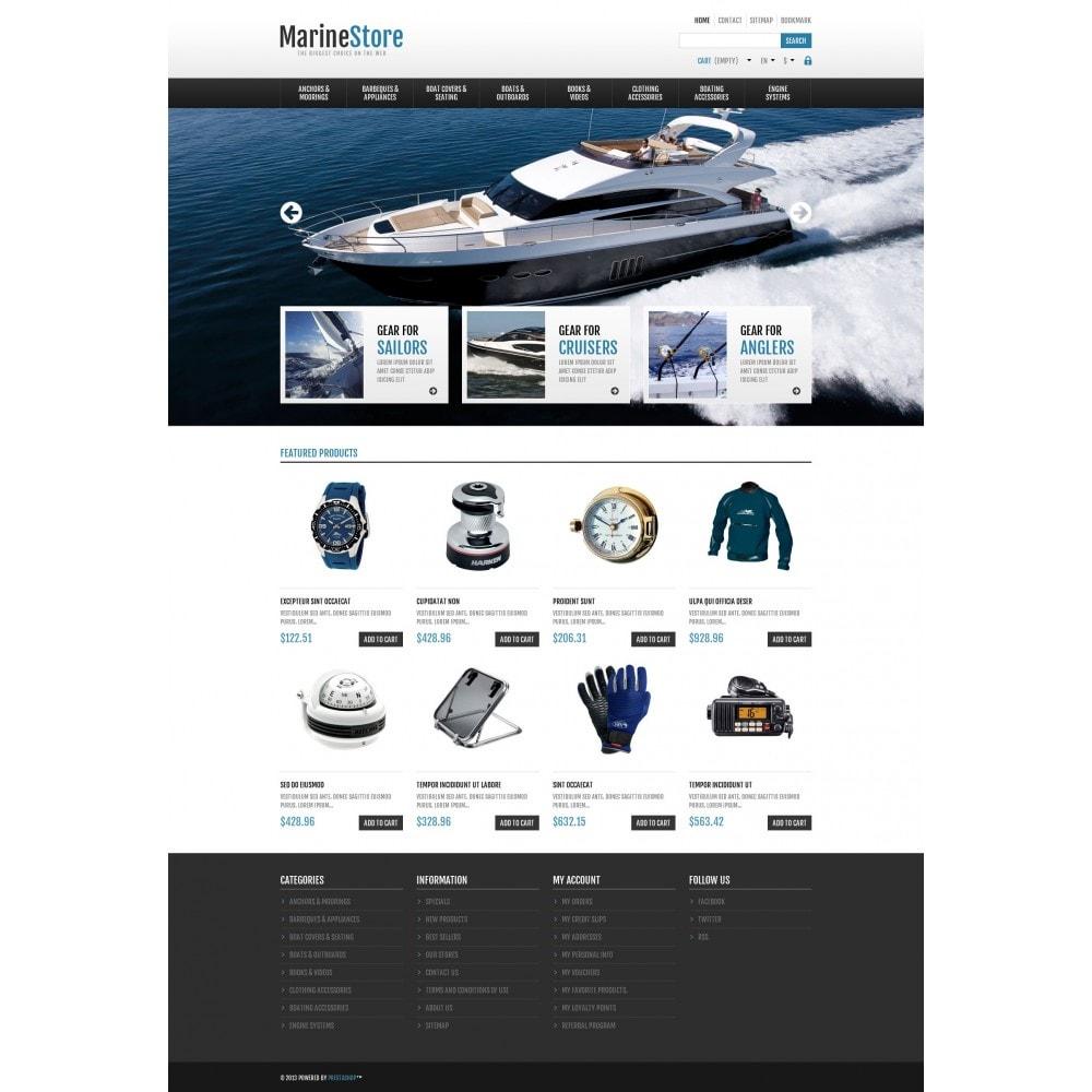 theme - Sport, Rozrywka & Podróże - Responsive Marine Store - 4