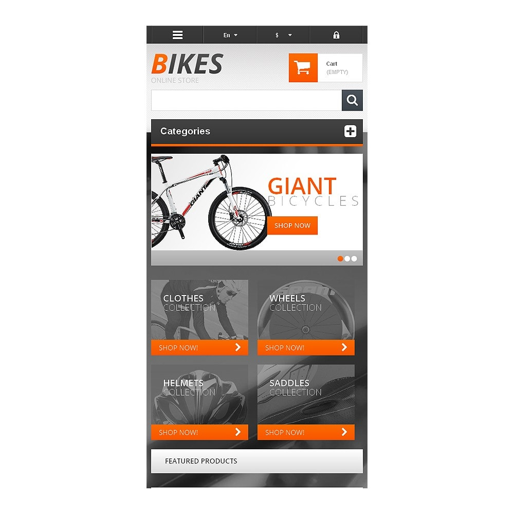 theme - Sports, Activities & Travel - Responsive Bikes Store - 8