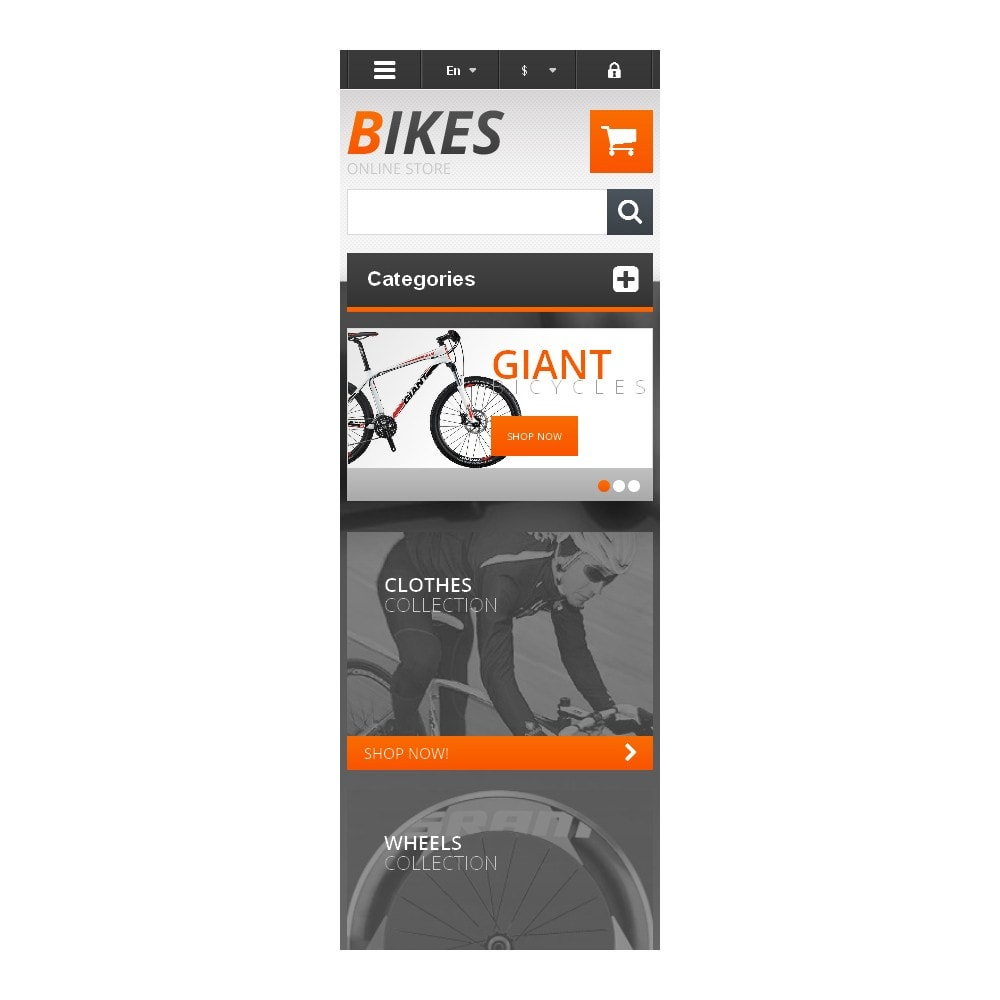 theme - Sports, Activities & Travel - Responsive Bikes Store - 9