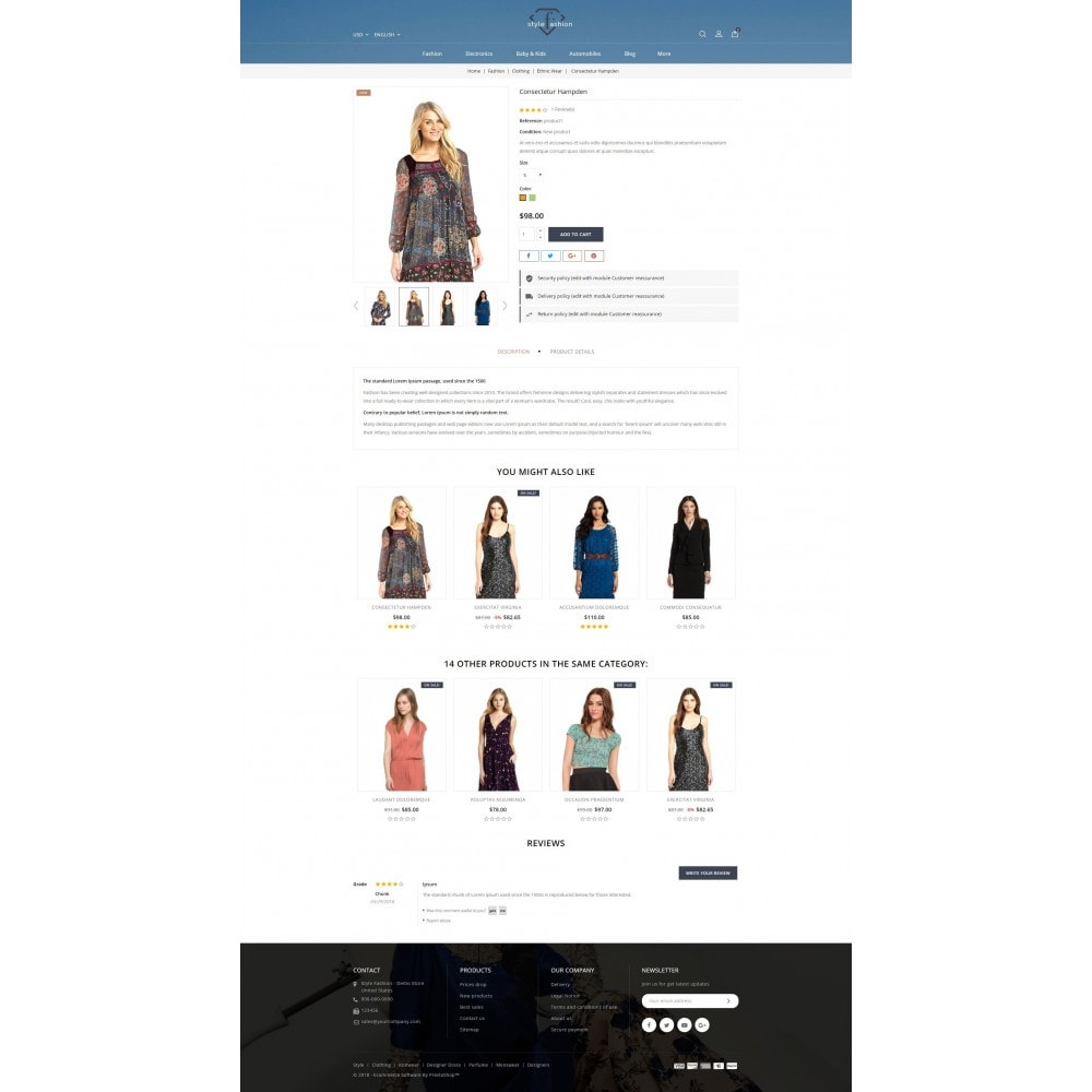 theme - Mode & Schuhe - Style Fashion Store - 5