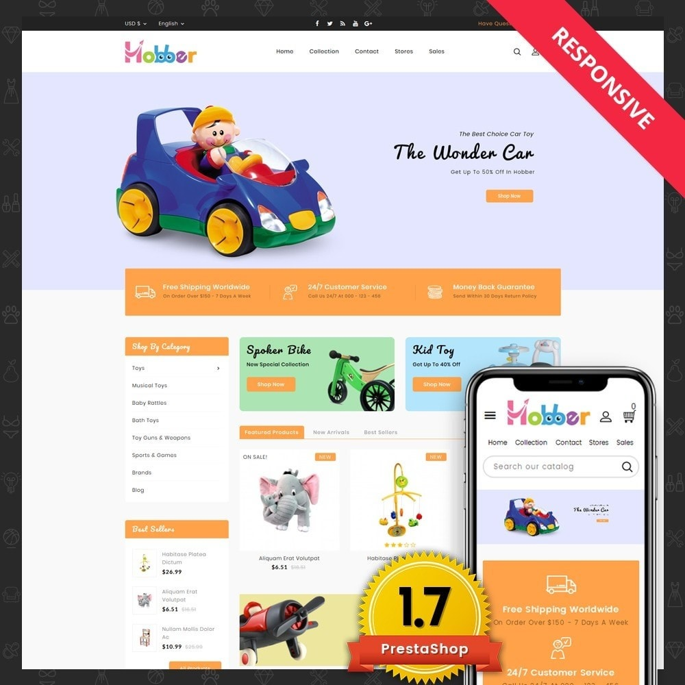 theme - Enfants & Jouets - Hobber Toy Store - 1