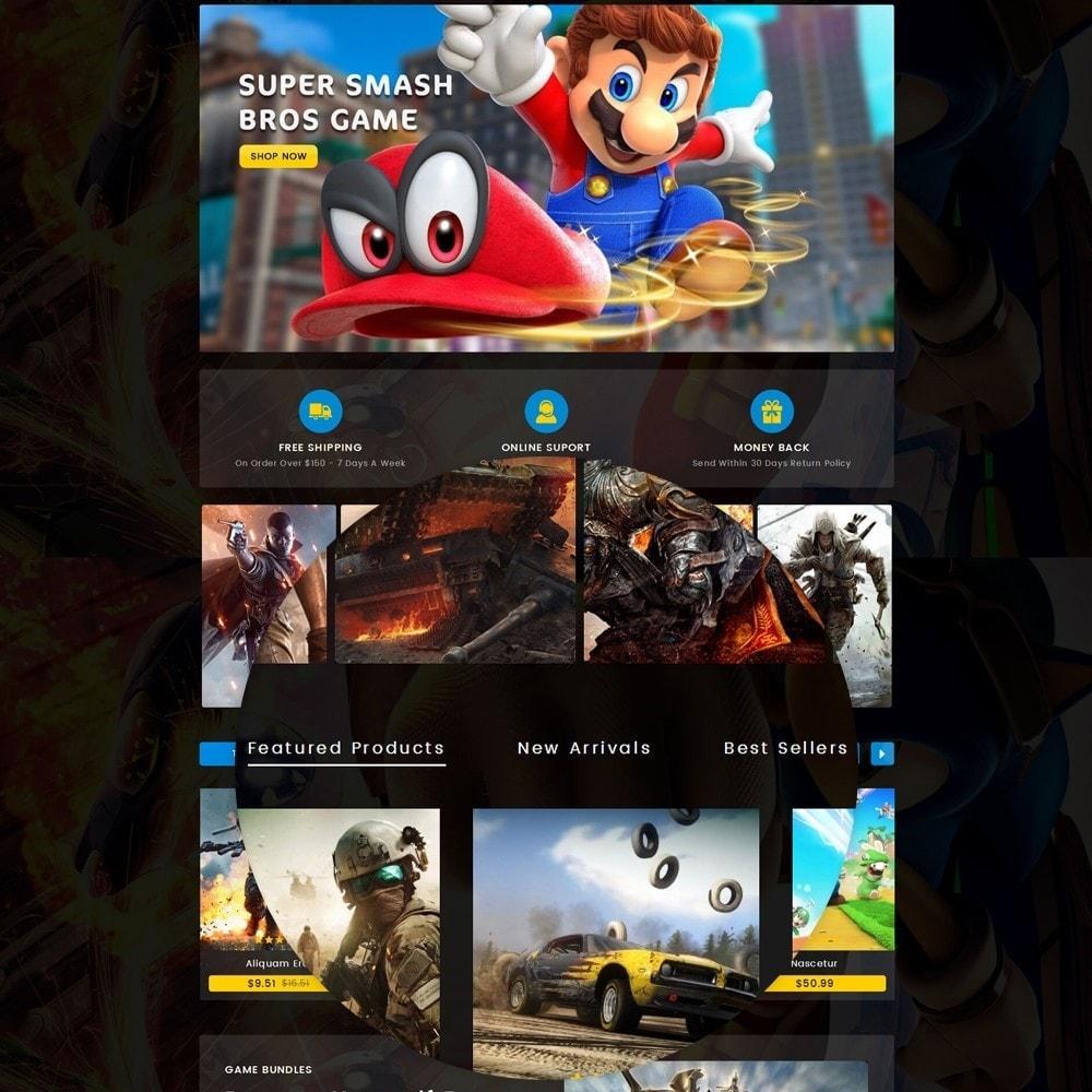 theme - Sport, Loisirs & Voyage - Game center Online Store - 10