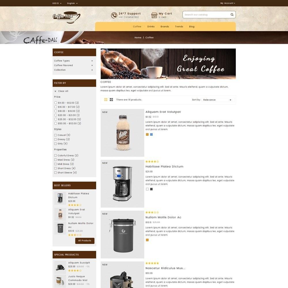 theme - Bebidas y Tabaco - Coffeehub Online Store - 4