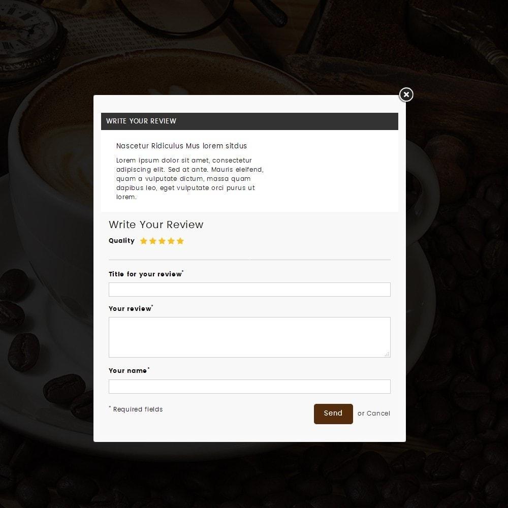 theme - Bebidas y Tabaco - Coffeehub Online Store - 8