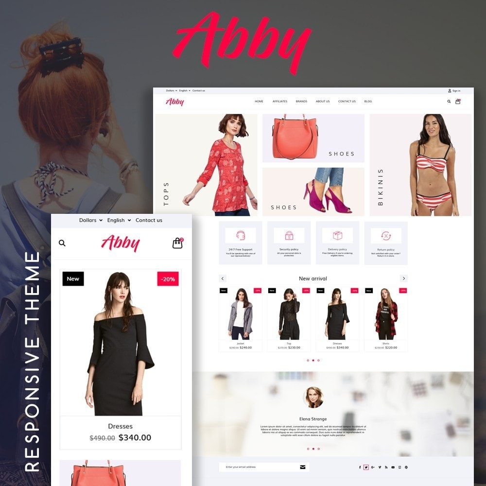 theme - Moda & Calzature - Abby Fashion Store - 1