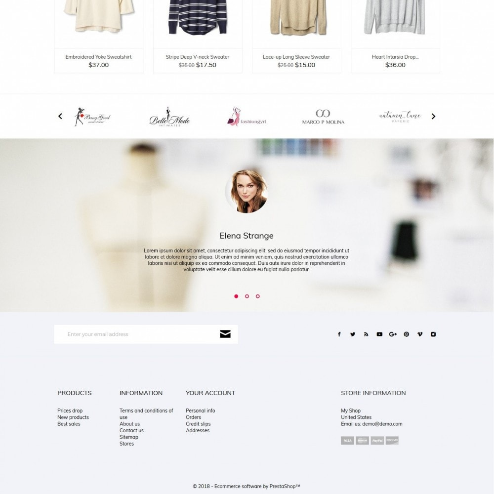 theme - Moda & Calzature - Abby Fashion Store - 4