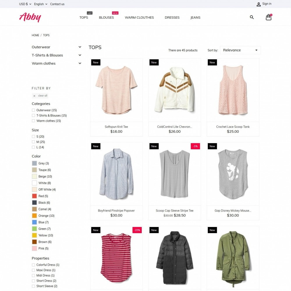 theme - Moda & Calzature - Abby Fashion Store - 5