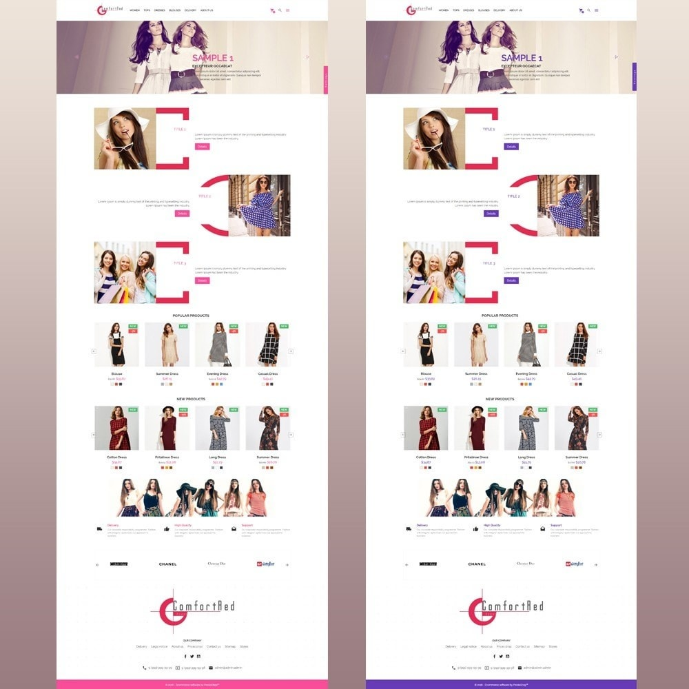 theme - Moda & Calzature - ComfortRed Style Clothes Store - 12