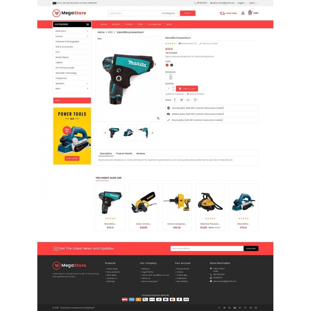 theme - Elektronica & High Tech - Mega Power Tools Store - 5