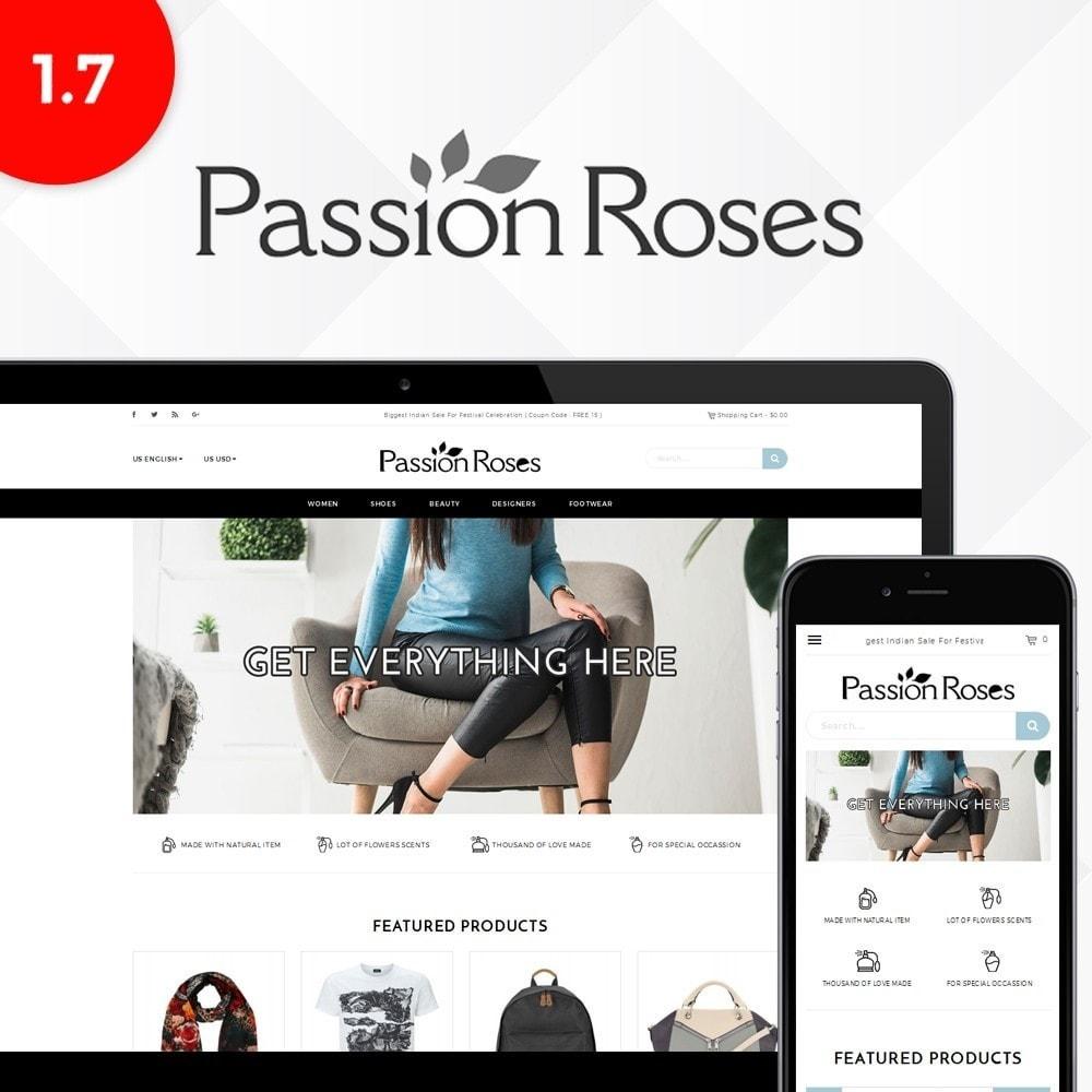 passion roses fashion store prestashop addons. Black Bedroom Furniture Sets. Home Design Ideas