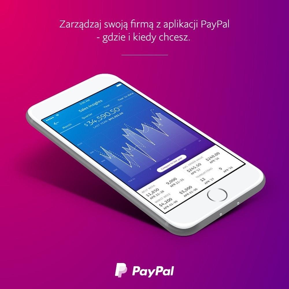 module - Płatność kartą lub Płatność Wallet - PayPal Oficjalny - 3