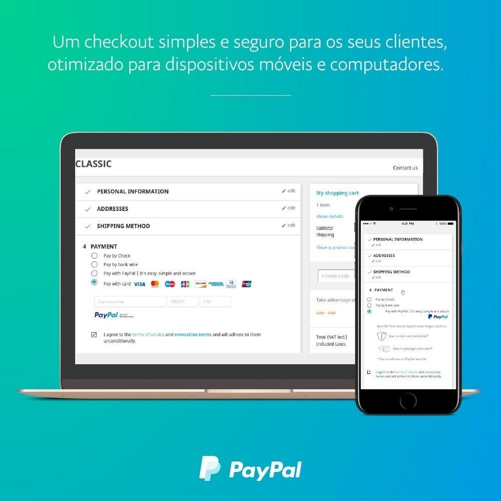 module - Pagamento por cartão ou por carteira - oficial de PayPal - 1