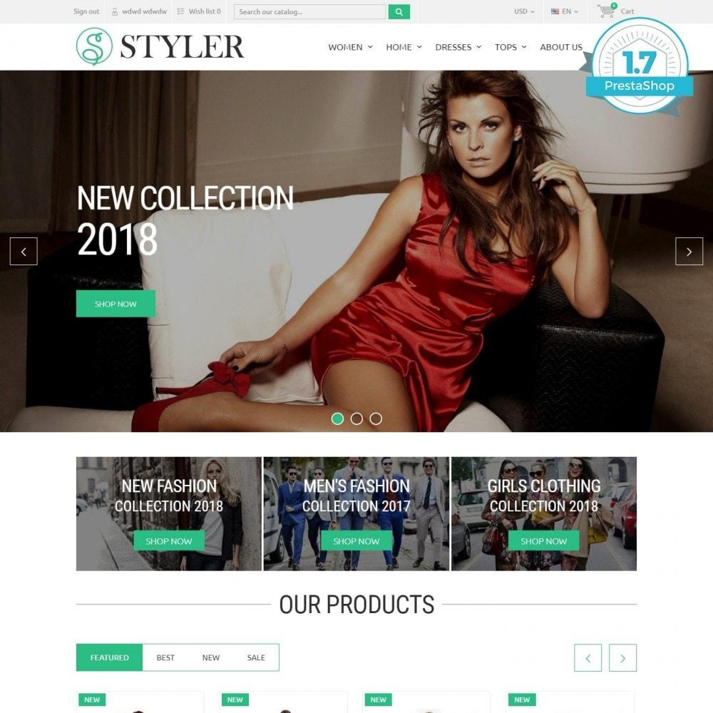 theme - Mode & Chaussures - InStyle - Boutique De Vêtements - 1