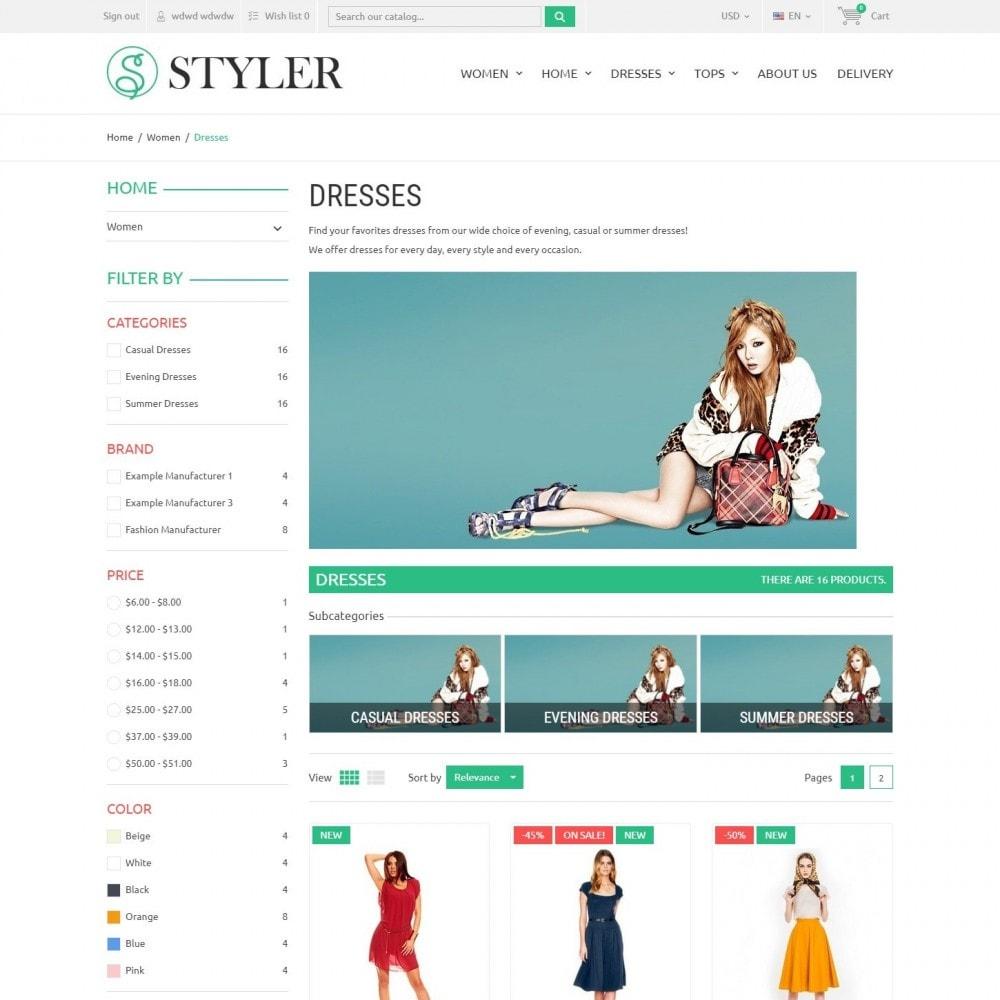 theme - Moda & Calçados - InStyle - Loja De Roupas - 3