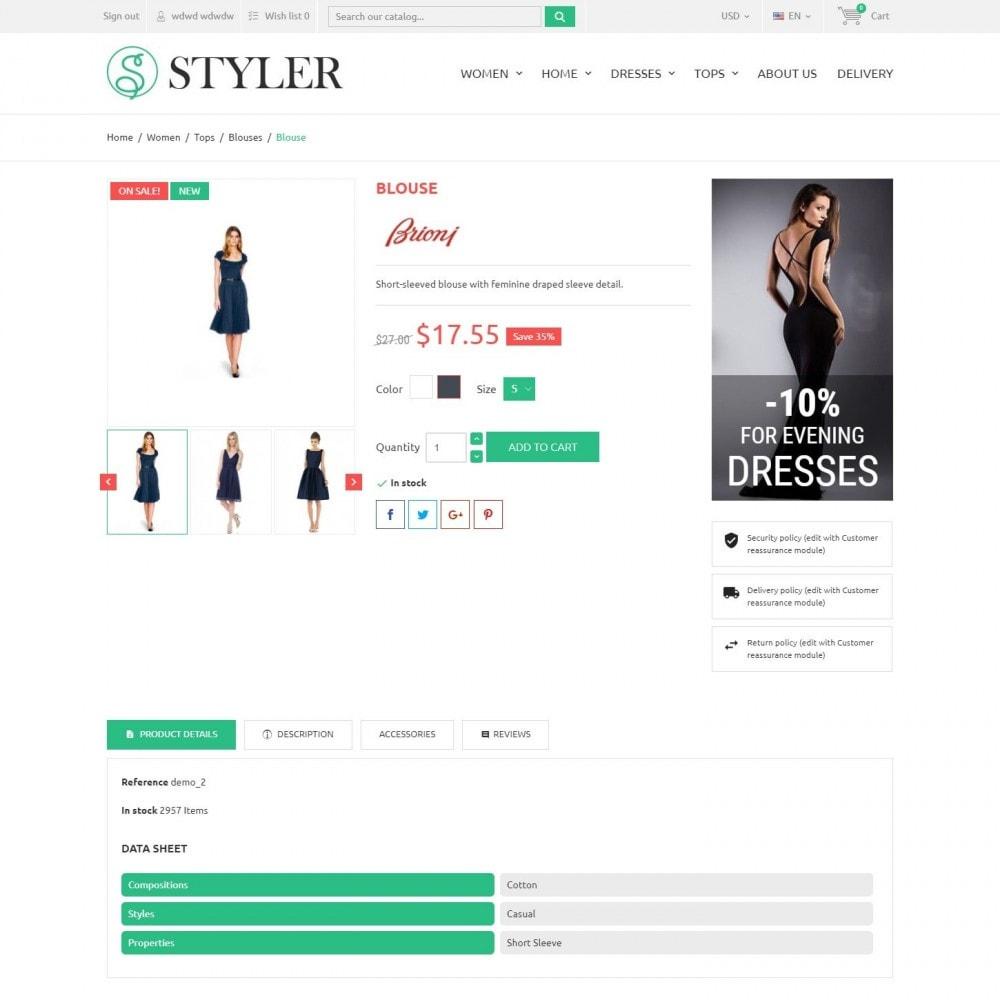 theme - Mode & Chaussures - InStyle - Boutique De Vêtements - 4