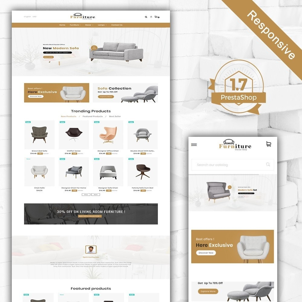 theme - Dom & Ogród - Furniture shop - Furniture and home decor store - 2