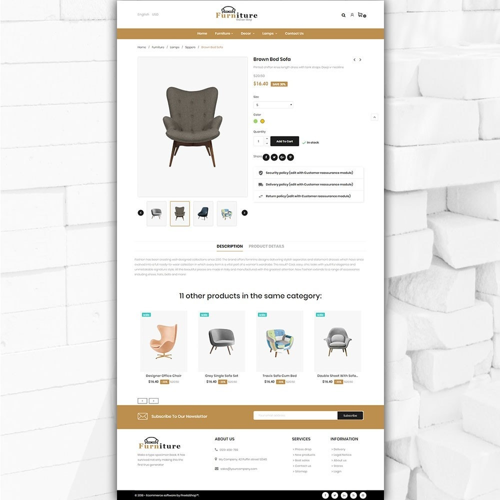 theme - Dom & Ogród - Furniture shop - Furniture and home decor store - 6