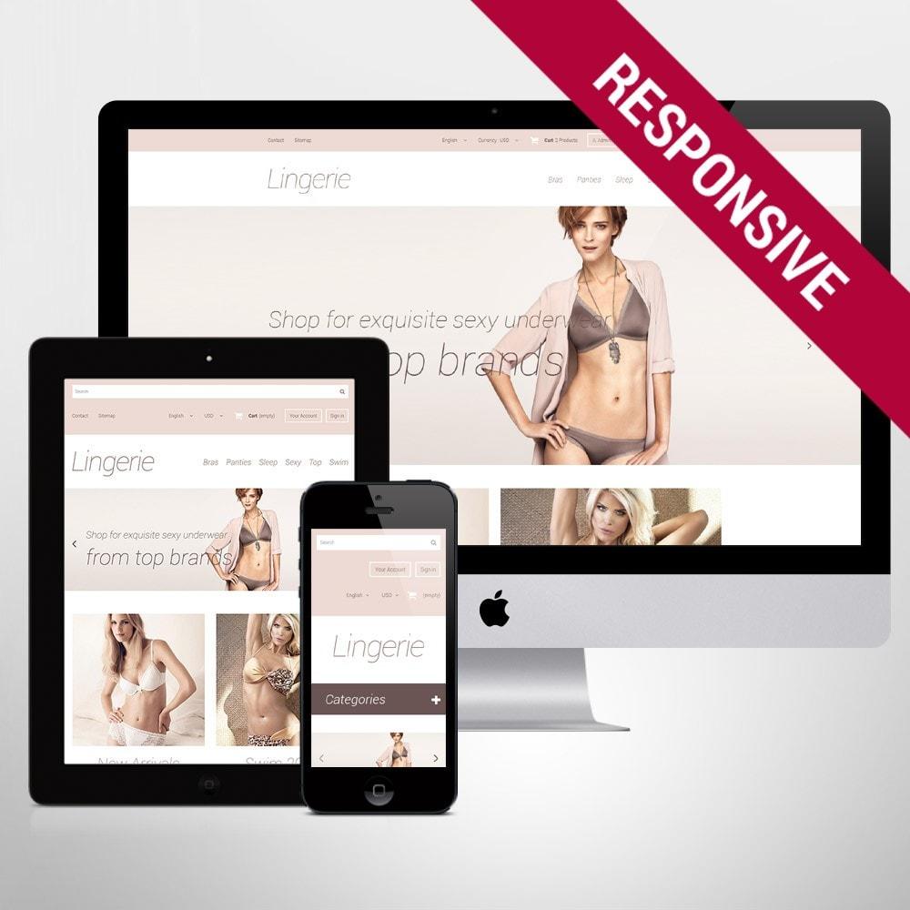 theme - Fashion & Shoes - Elegant Lingerie - 1