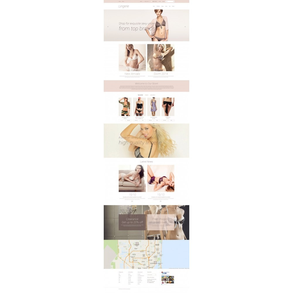 theme - Fashion & Shoes - Elegant Lingerie - 2