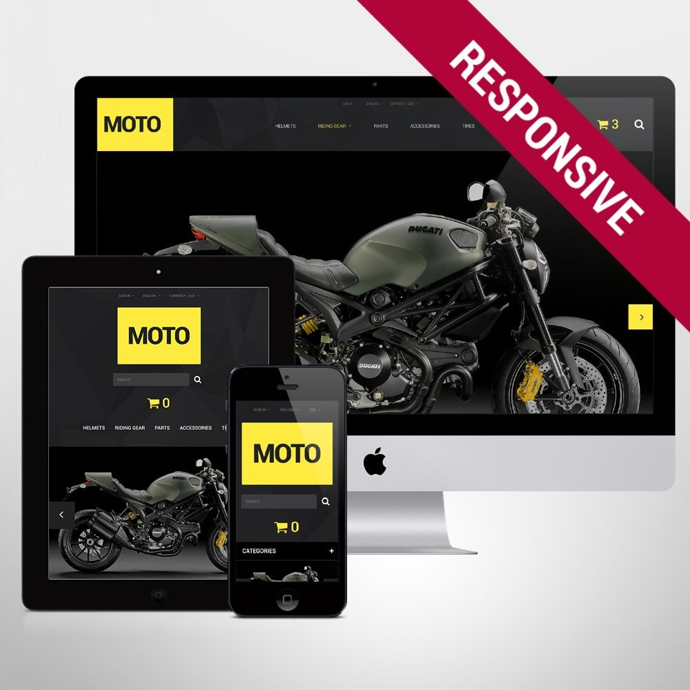 theme - Sport, Loisirs & Voyage - Motorcycle Store - 1