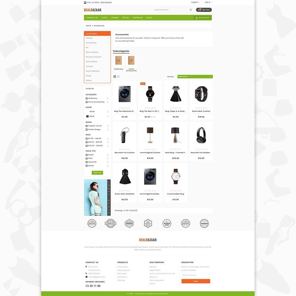 theme - Elettronica & High Tech - DealBazaar - Largest Marketshop - 3