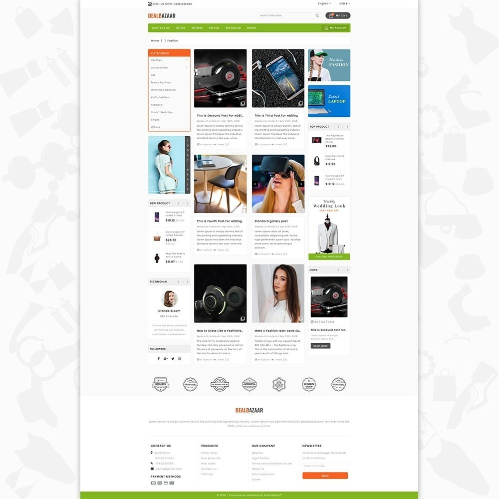theme - Elettronica & High Tech - DealBazaar - Largest Marketshop - 6